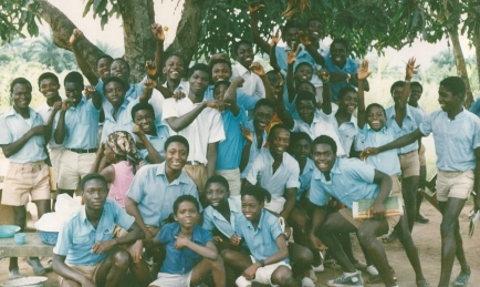 St. Martin Secondary School Students